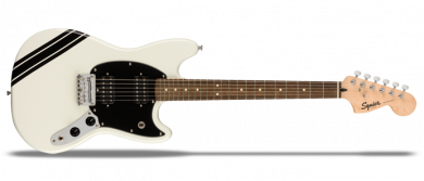 FSR Bullet Competition Mustang HH Arctic White with Black Stripes