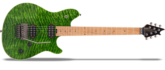 Wolfgang WG Standard QM Quilted Maple Transparent Green